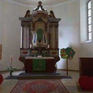 Altar Trinitatiskirche Gablenz