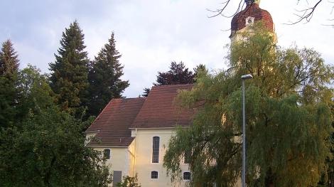 Trinitatis-Kirche Gablenz Sanierung Baubeginn