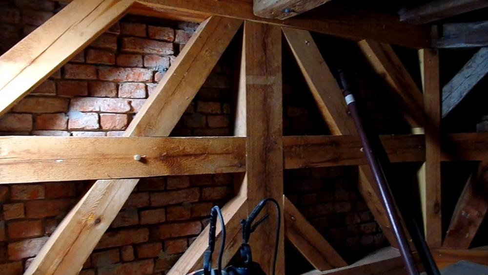 Kirche Gablenz Sanierung Baufortschritt Rundblick erste Etage